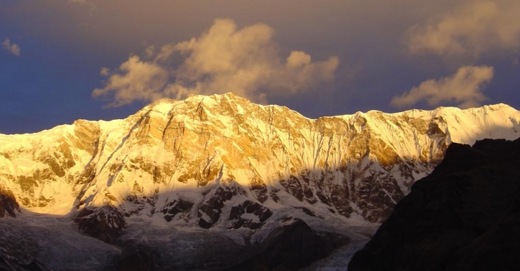sunset view, Annauprna Base Camp