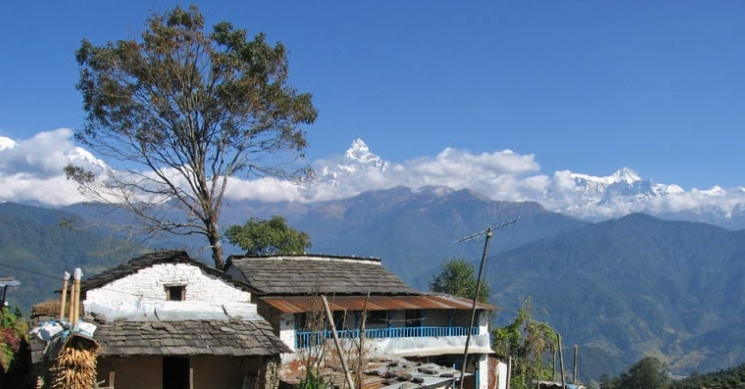 Traditional house, Annapurna Base camp