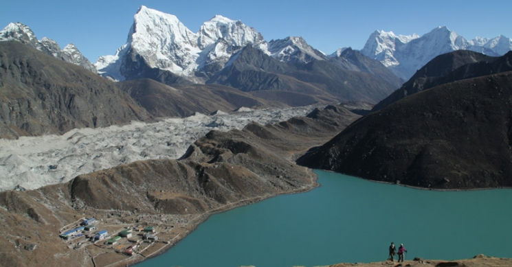 Gokyo Lake view From Gokyo Ri