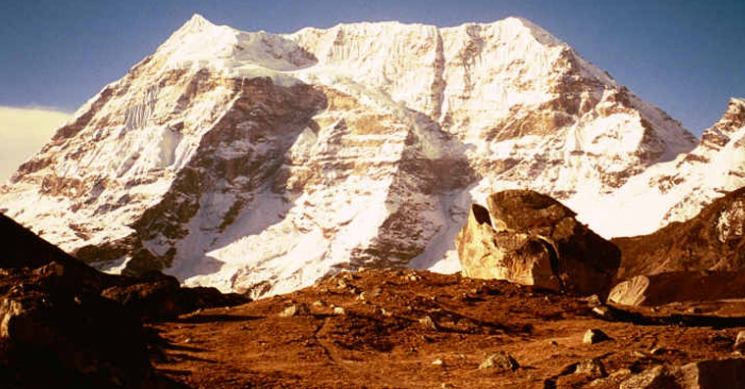 Makalu West Face View From Sherson