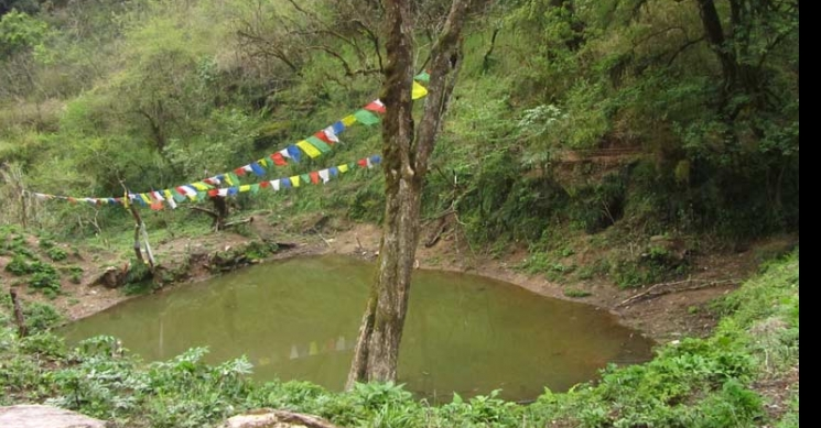 Pond near the Top of Phulchoki Hill