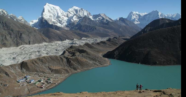 View from Gokyo Ri