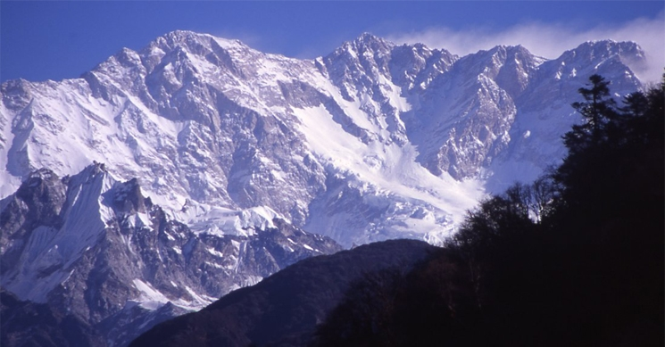 Kangchenjunga South Face From Nepal