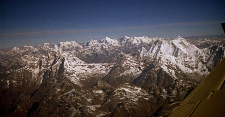 View from Everest Flight