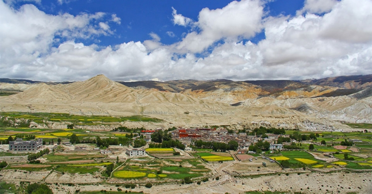 View from Upper Mustang Trek