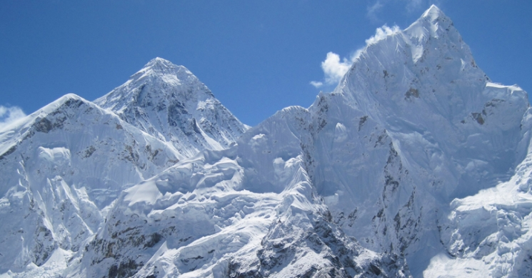 View from Everest Helicopter Tour