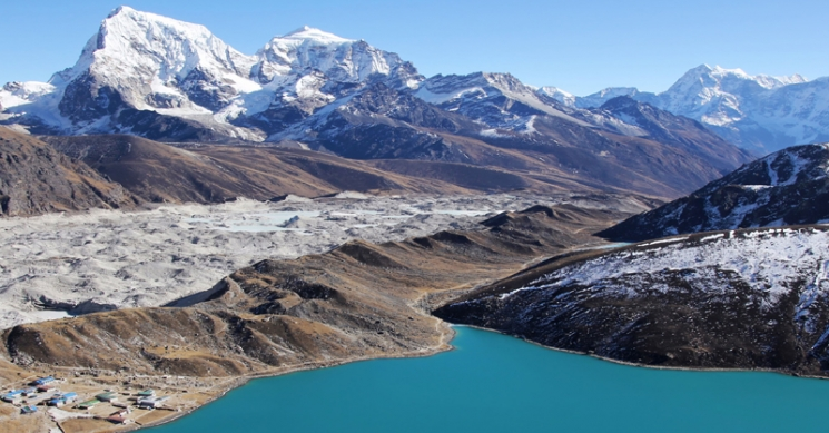View from Everest Heli Tour