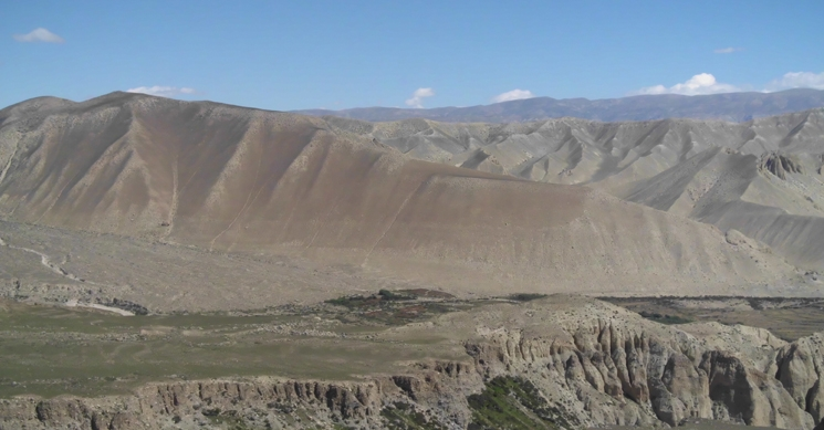 View from Mustang Overland Tour