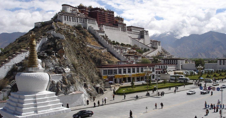 Potala Palace at lhasa