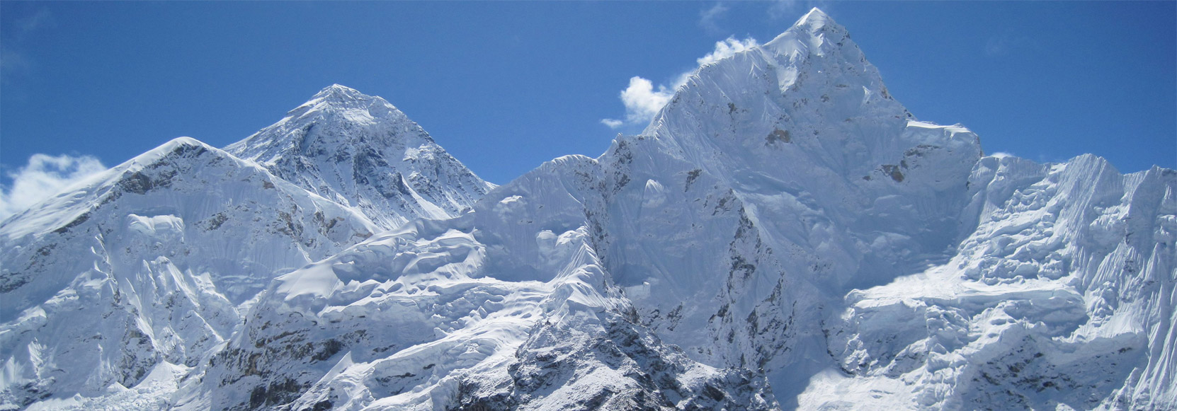Mount Everest and  Mount Lhotse
