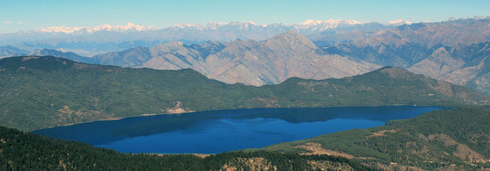View from Rara Lake