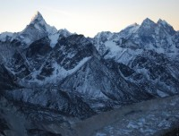 View from Everest Base Camp Trek