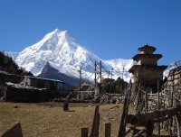 View of Mt. Manaslu