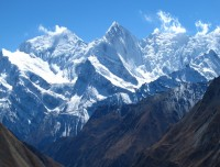 View from Annapurna Circle Trek