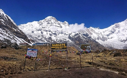 Annapurna Base Camp Trek Flight back with Helicopter