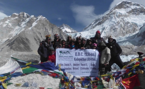 Gokyo Chola Pass Trekking via EBC