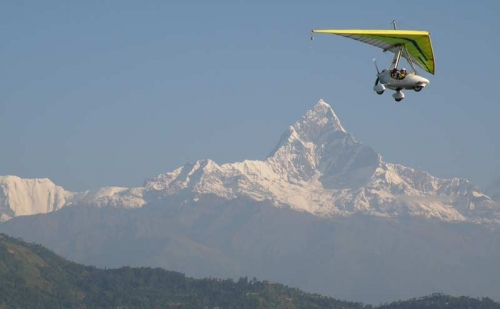 Ultra Light Flight in Nepal